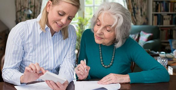 Organizing Senior Legal Documents