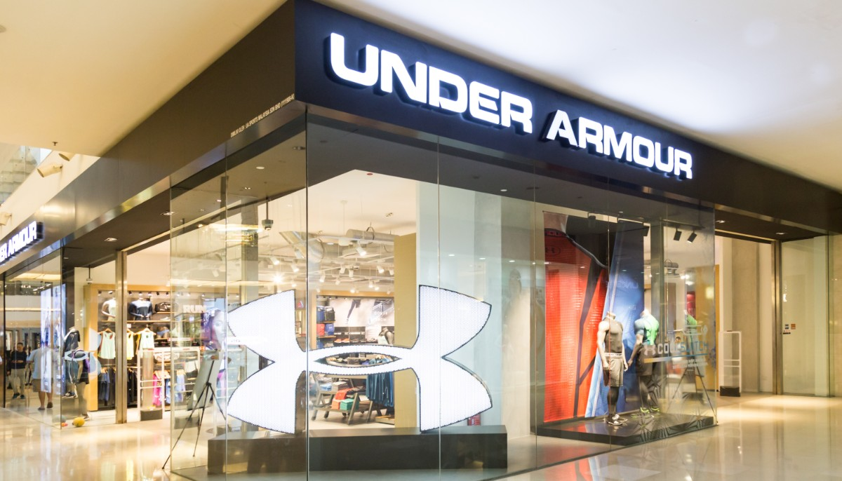 an under armour store