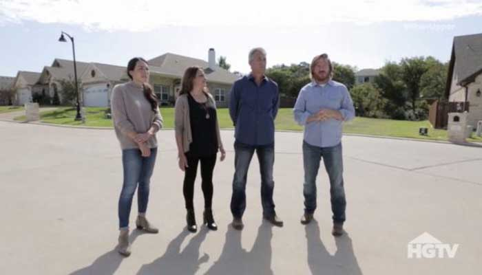 Chip and Joanna on Fixer Upper